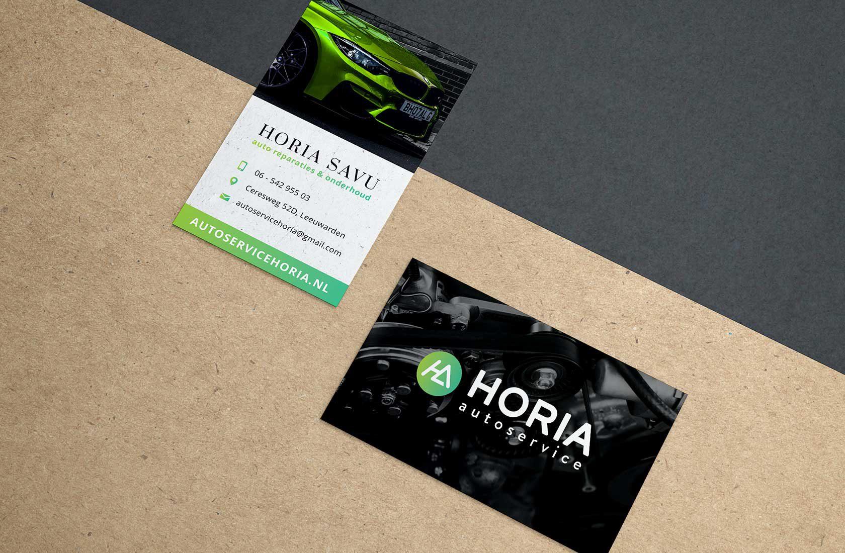 visitekaartjes_Autoservice_Horia